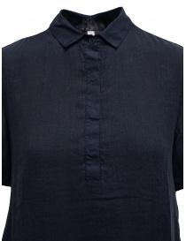 European Culture long blue shirt dress price