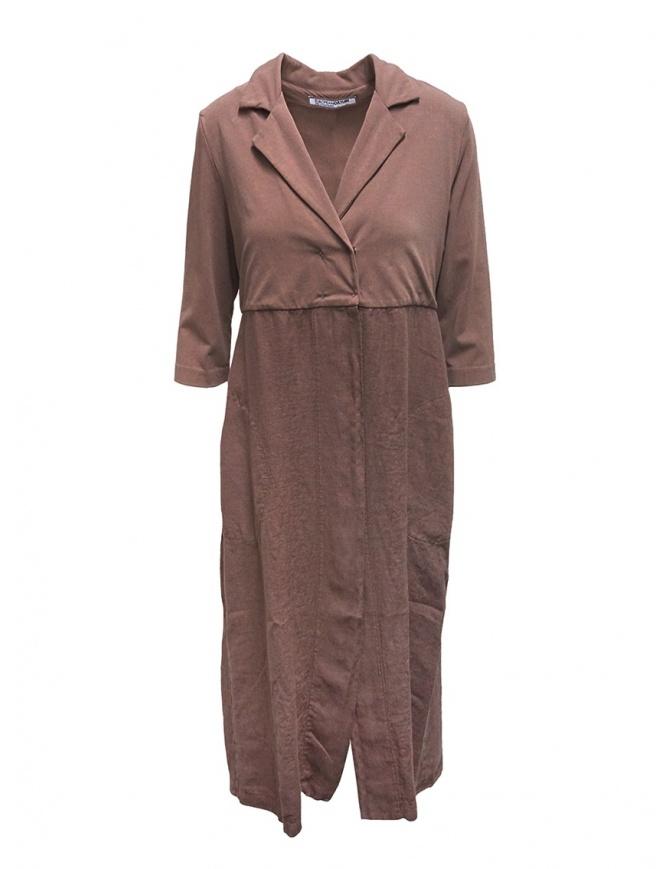European Culture giacca lunga in felpa e lino 55NU 2841 1377 giubbini donna online shopping