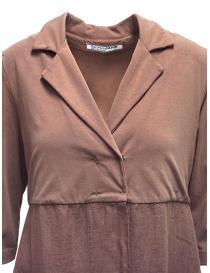 European Culture long fleece and linen jacket womens jackets buy online