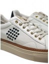 BePositive Anniversary white sneakers with golden eyelets S0ARIA01/LEV WBN buy online