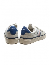 BePositive X Veeshoes white and blue Track sneakers price