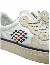 BePositive X Veeshoes sneakers Track bianche e blu calzature uomo acquista online