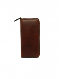 Slow Herbie brown leather long wallet online