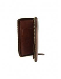 Slow Herbie brown leather long wallet wallets buy online