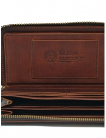 Slow Herbie brown leather long wallet wallets price