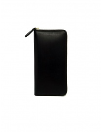 Slow Herbie long wallet in black leather online
