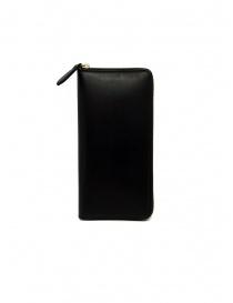 Slow Herbie long wallet in black leather online