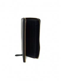 Slow Herbie long wallet in black leather wallets buy online