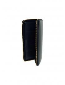 Slow Herbie long wallet in black leather wallets price
