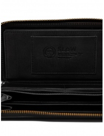 Slow Herbie long wallet in black leather