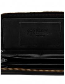 Slow Herbie long wallet in black leather