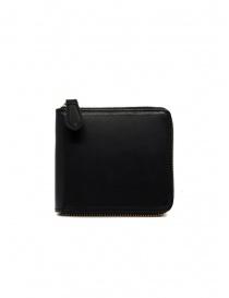 Slow Herbie portafoglio piccolo quadrato in pelle nera prezzo