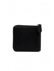Slow Herbie portafoglio piccolo quadrato in pelle nera portafogli acquista online