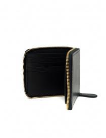Slow Herbie portafoglio piccolo quadrato in pelle nera portafogli prezzo