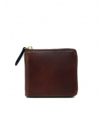 Slow Herbie small square brown leather wallet