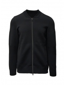 Mens jackets online: Descente Fusionknit Chrono black jacket