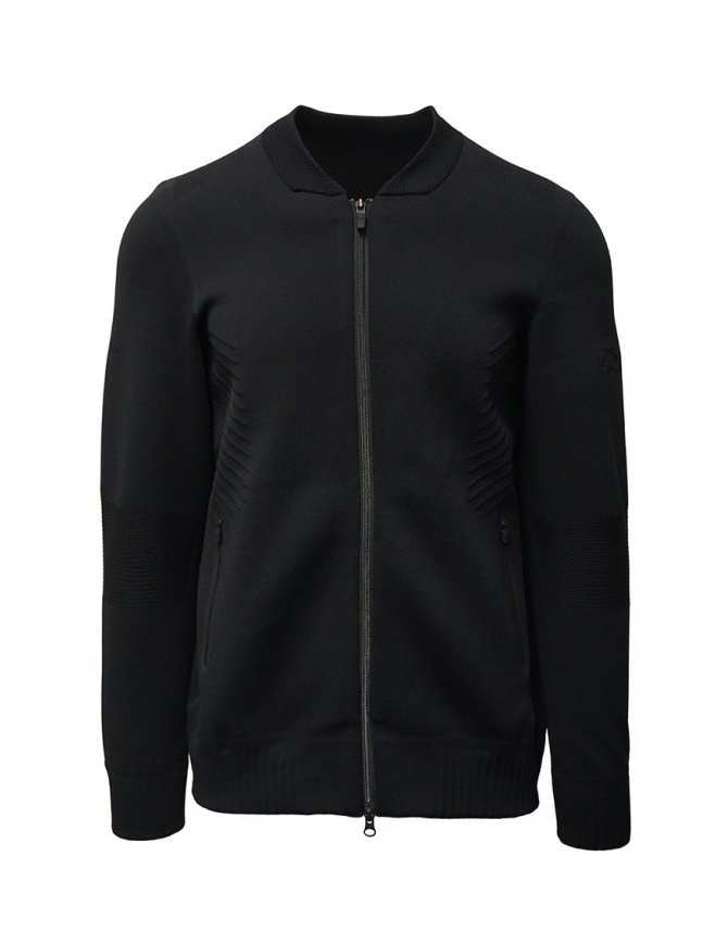 Descente Fusionknit Chrono black jacket DAMPGL02 BLACK mens jackets online shopping