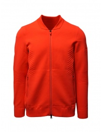 Descente Fusionknit Chrono fluo orange track jacket online