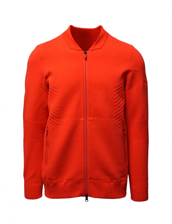 Descente Fusionknit Chrono fluo orange track jacket DAMPGL02 RED mens jackets online shopping