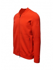 Descente Fusionknit Chrono fluo orange track jacket