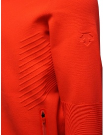 Descente Fusionknit Chrono fluo orange track jacket mens jackets buy online