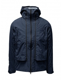 Mens jackets online: Descente navy blue Transform jacket