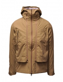 Mens jackets online: Descente khaki Transform jacket