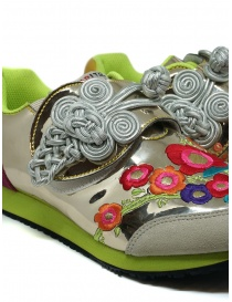Kapital embroidered golden sneakers womens shoes buy online