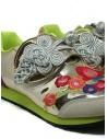 Kapital sneakers dorate ricamate K1910XG535 GLD acquista online