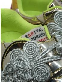 Kapital sneakers dorate ricamate calzature donna prezzo