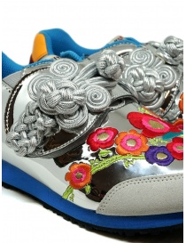 Kapital embroidered silver sneakers womens shoes buy online