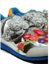 Kapital sneakers argentata ricamata K1910XG535 SILVER acquista online