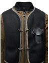 D.D.P. tobacco-colored bomber jacket with black mesh vest MBJ001 BOMBER COT/NYL UOMO buy online