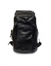 Cornelian Taurus black leather backpack with front handles price