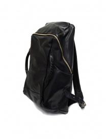 Cornelian Taurus zaino in pelle nera con manici frontali CO19FWTS010 BLACK order online