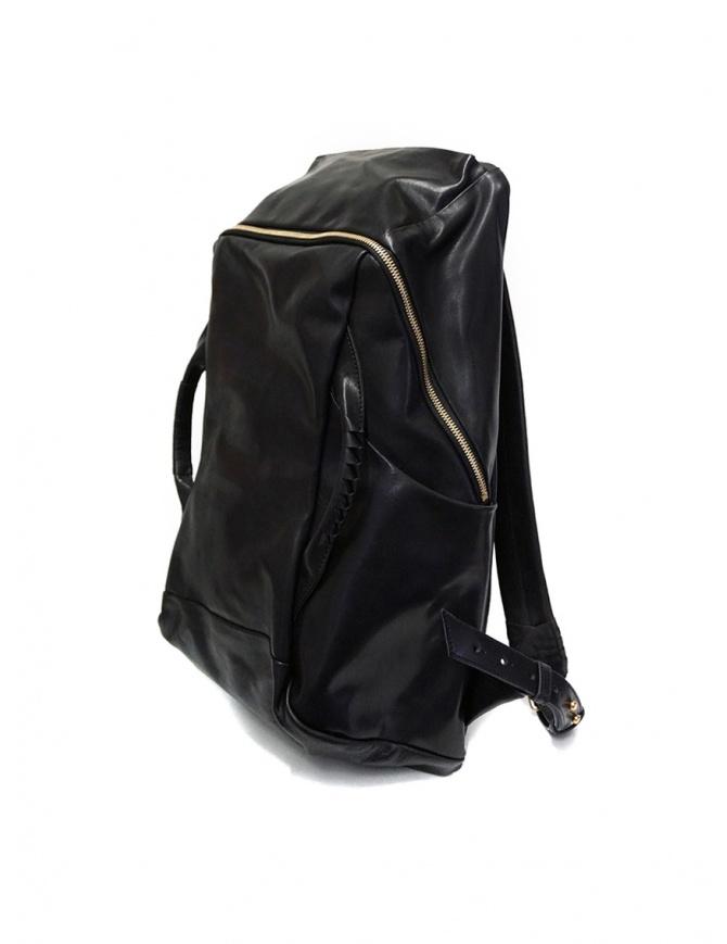 Cornelian Taurus zaino in pelle nera con manici frontali CO19FWTS010 BLACK borse online shopping