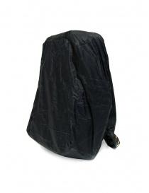 Cornelian Taurus black leather backpack with front handles bags buy online
