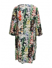 Plantation colored flower dress in cotton