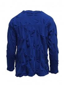 Plantation camicia blu con fiori in rilievo prezzo
