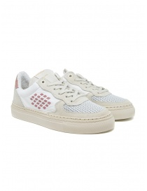 BePositive VeeShoes Track_09 sneakers in white and pink online