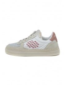 BePositive VeeShoes Track_09 sneakers in white and pink