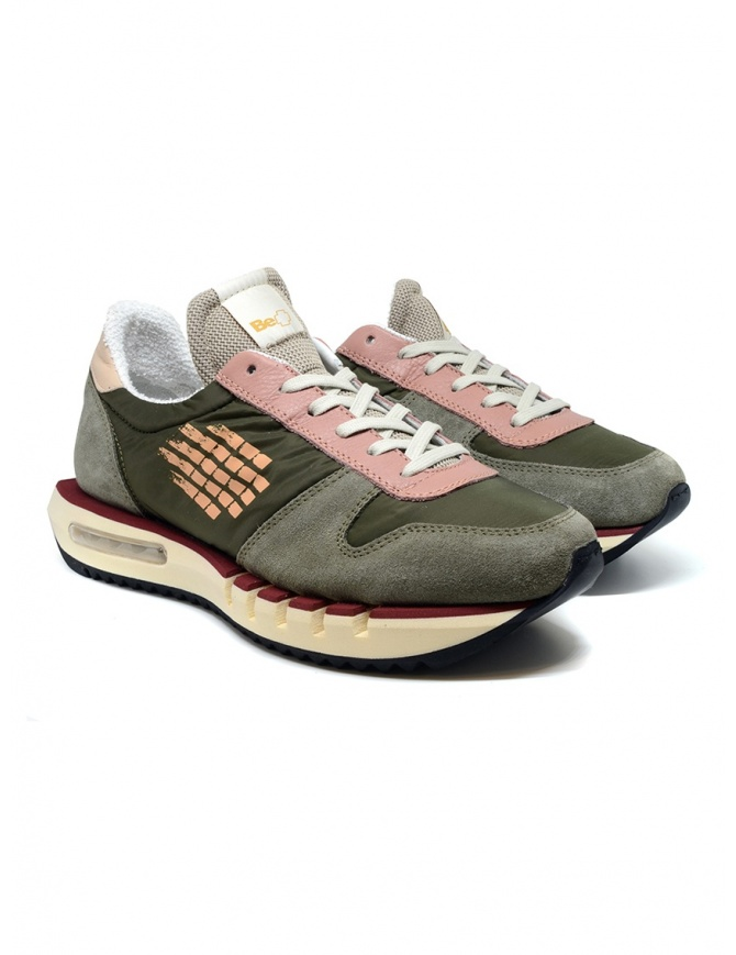BePositive Cyber ​​Run green and pink sneakers CYBER RUN S0CYBER01/NYL MIL mens shoes online shopping