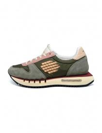 BePositive Cyber Run sneakers verdi e rosa acquista online