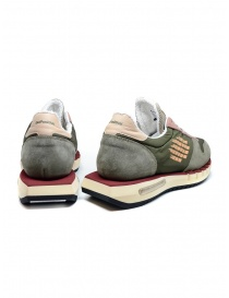 BePositive Cyber Run green and pink sneakers price