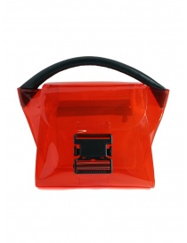 Bags online: Zucca mini red bag in transparent PVC