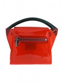 Zucca mini borsa rossa in PVC trasparente prezzo