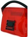 Zucca mini borsa rossa in PVC trasparente ZU07AG268-21 RED acquista online