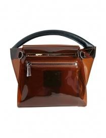 Zucca mini borsa in plastica trasparente marrone prezzo