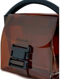 Zucca mini borsa in plastica trasparente marrone borse acquista online