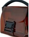 Zucca mini borsa in plastica trasparente marrone ZU07AG268-05 BROWN acquista online